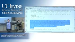 Engineering CEE 20: Engineering Problem Solving. Lecture 13