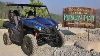 9. Yamaha Wolverine X2 on the Rubicon Trail