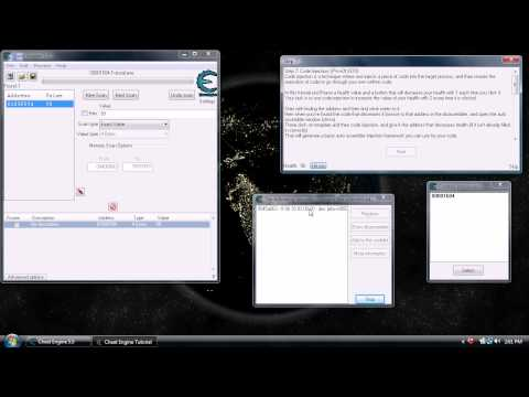 cheat engine 5.5 tutorial - http://cheatengine.org/index.php Cheat Engine is a tricky program for beginners to understand. This is intended to be a visual guide to introduce new users t...
