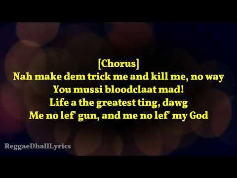 Popcaan - Family Lyrics (Lyrics Video)