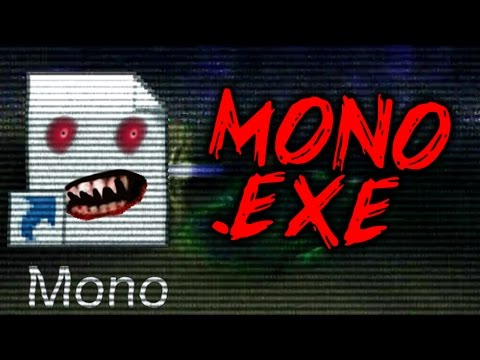 MONO.EXE - WORST 4th WALL BREAKING HORROR GAME IS BACK?! HAUNTED GAME IS POSSESSING MY PC!