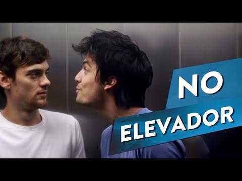 COISAS QUE GOSTARÍAMOS DE DIZER - NO ELEVADOR