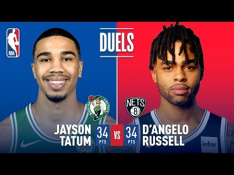 Video: D'Angelo Russell & Jayson Tatum Both Go For 34 Points | January 14, 2019