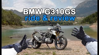 8. BMW G310GS Review and In Depth Spec Review 2018