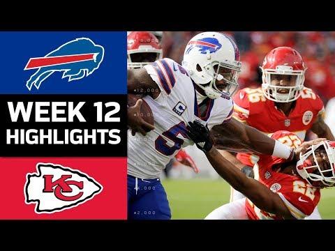 Video: Bills vs. Chiefs | NFL Week 12 Game Highlights