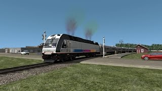 TS2016 HD: Operating NJT Pascack Valley Line Train 1625 Secaucus Junction-Spring Valley (ALP-45DP)