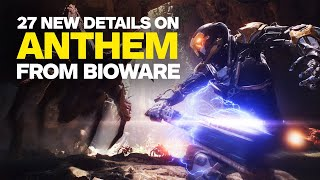 Video 27 New Anthem Details We Learned From BioWare MP3, 3GP, MP4, WEBM, AVI, FLV Desember 2018