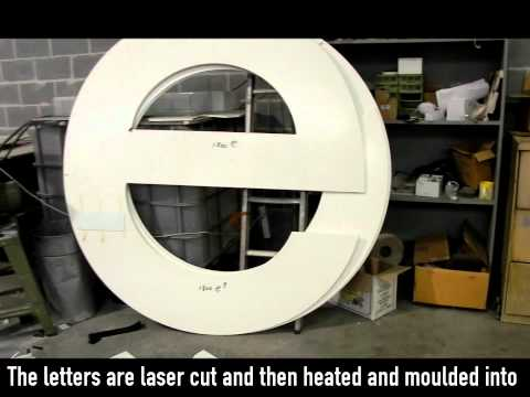 Fabricated letters: the most popular type of outdoor signage