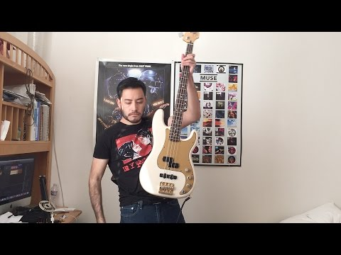 My Chemical Romance - Teenagers Bass Cover (Tab in Description)