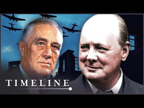 The Friendship Between Britain And The USA | Warlords: Churchill vs Roosevelt | Timeline