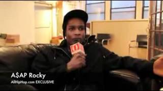 A$AP Rocky Speaks On Odd Future