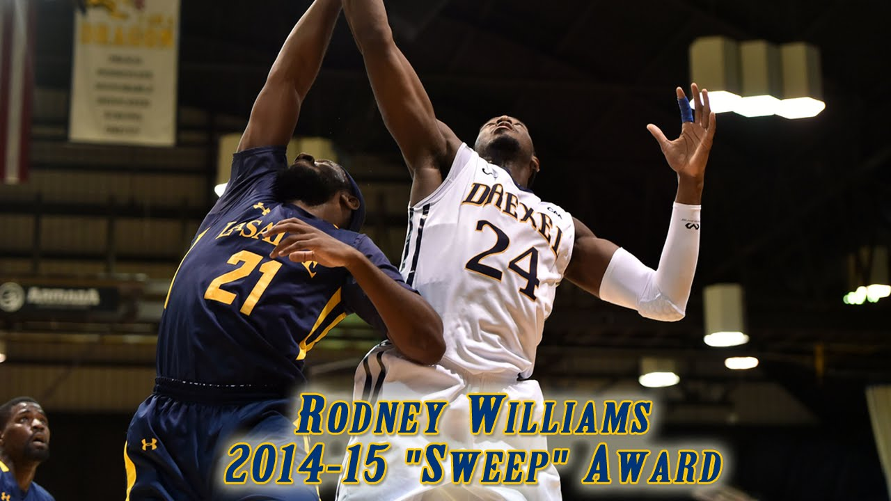 "2014-15 ""Sweep"" (Top Rebounder) Award – Rodney Williams"