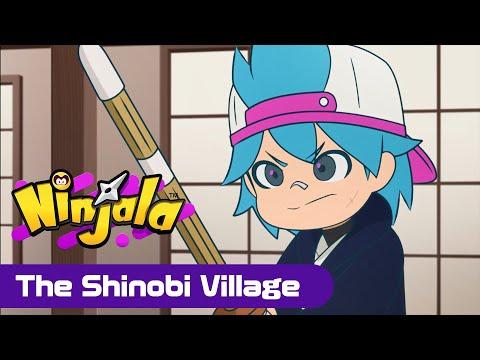 "Ninjala 2D Cartoon Anime - Episode #4: ""The Shinobi Village"""
