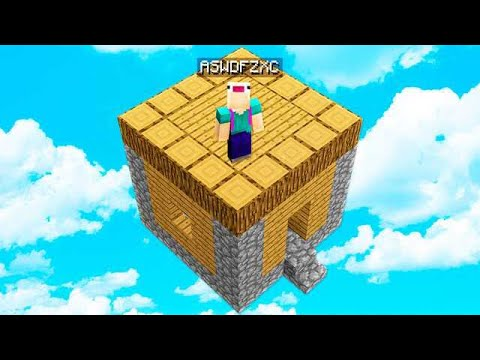 SURVIVING ON A HOUSE WITH ASWDFZXC IN MINECRAFT!