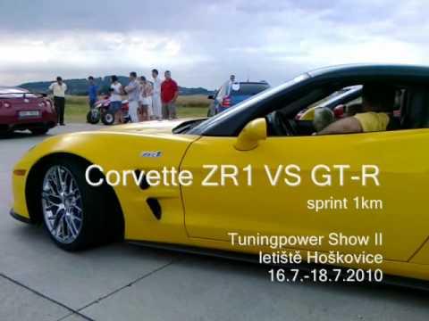Chevrolet Corvette ZR1 vs Nissan GTR