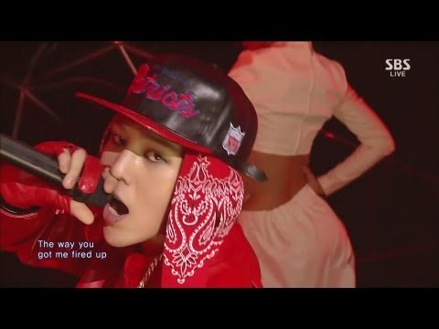 G-DRAGON_1006_SBS Inkigayo_R.O.D (ft. Lydia Paek)