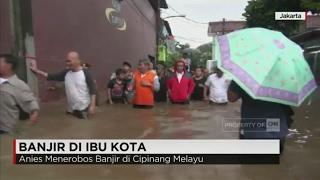 Video Anies Terobos Banjir di Cipinang Melayu MP3, 3GP, MP4, WEBM, AVI, FLV Maret 2018