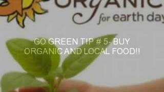 How To Go Green! YouTube video