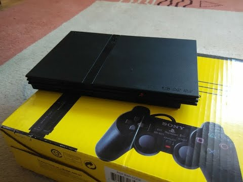 ОБЗОР Sony Playstation 2 Slim!