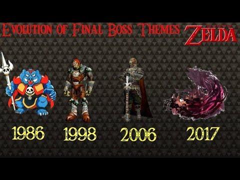 Evolution of Final Boss Themes 1986- 2017 (The Legend of Zelda)