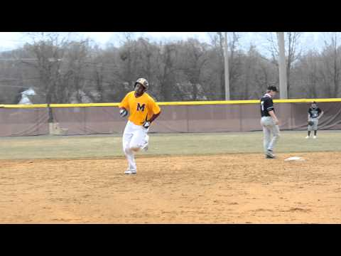 Baseball Home Run by Jeramey Vauss McNamara