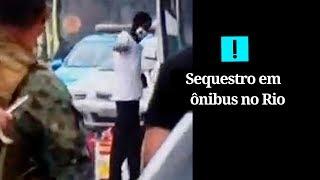 Veja o momento em que o sequestrador do ônibus na ponte Rio-Niterói é morto