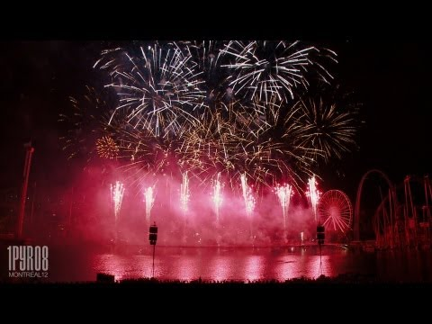| HD | Feux d'artifice Montréal 2012 – Best of Suisse/Switzerland (Feuerwerk, fireworks)