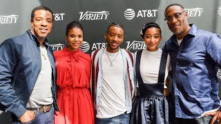 Issa Rae, Anthony Mackie, Amandla Stenberg - 'The Hate U Give' -  Variety Studio TIFF 2018
