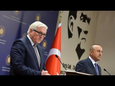 Τουρκία: «Δύσκολη» συνάντηση Σταϊνμάιερ-Τσαβούσογλου