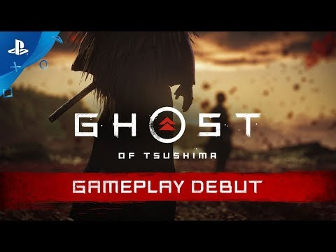 Ghost of Tsushima - E3 2018 Gameplay Debut | PS4 (видео)