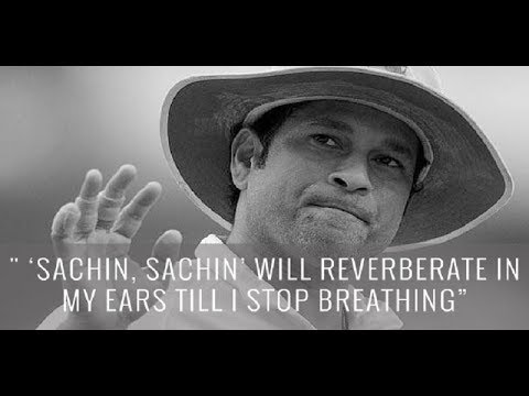 God quotes - Great lines said on Sachin Tendulkar   The God of Cricket   Wonderful quotes   must watch
