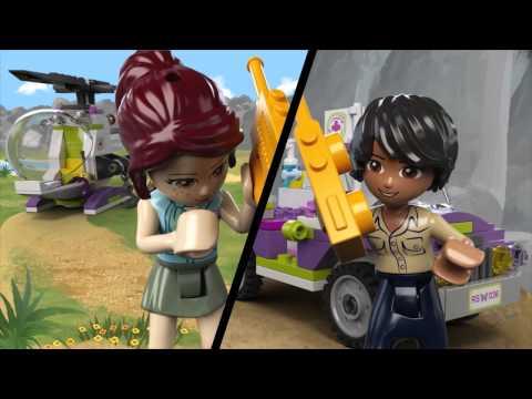 LEGO Friends - Mentés a dzsungelhídon