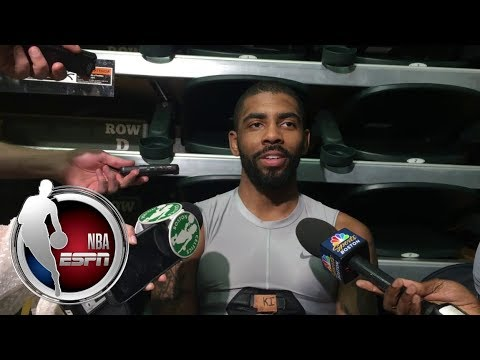 Video: Kyrie Irving shot down a report that he threatened to have knee surgery | NBA on ESPN