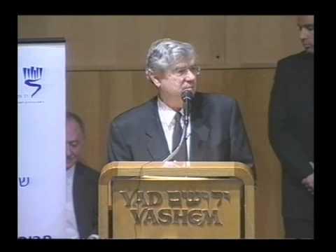 אהרן ברק: כנס הקמה של הוועדה לציון ניצולי השואה