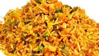 Tawa Pulao Recipe/ Simple and Easy Tawa Pulao/ Indian Food Recipe/ Veg Rice Recipe.