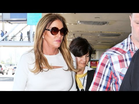 Caitlyn Jenner Is Wished Luck On Her Way To The RNC