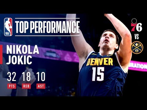 Video: Nikola Jokic Puts Up Historic Triple-Double | January 26, 2019