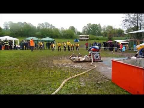 SDH Chýnov A - okrsková soutěž Dolní Hořice 11.5.2013 - 27,27s