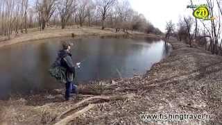 Клуб рыболовных путешествий. Рыбалка на Нижней Волге (весна)