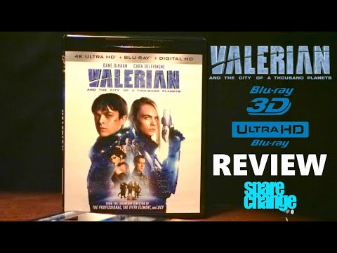 Valerian And The City Of A Thousand Planets 4K | 3D Bluray Review | Dolby Atmos | DTS HD