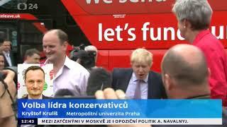 Konzervativci volí nového lídra. Pomůže Boris Johnson straně proti Farageovi?