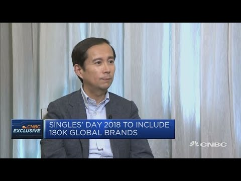 Alibaba CEO's hopes for Singles' Day 2018 | Squawk Box Europe