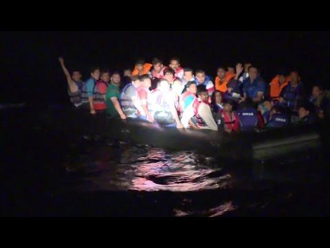 اليونان: خفر السواحل ينقذ اللاجئين في ليسفوس