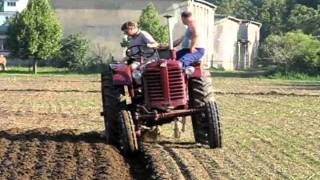 Bernburg Germany  City pictures : I`m ploughing with MTZ-5L in Bernburg, Germany