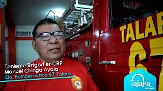 Ser bombero en Talara: el privilegio de servir