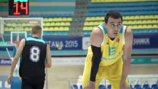 Hightlits of the match National league: «Astana» — «Tobol» (Game 1)