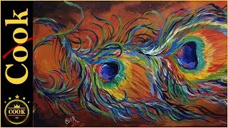 """Ginger will be showing how to use acrylic paints to create this Rainbow Peacock Feathers in a Figurative Abstract. In this lesson, you will learn how to paint with a rainbow of colors and not create a """"muddy"""" painting. This 10x20 painting was painted entirely first with cadmium red medium and let dry.  The layers of yellows,oranges and gold are dry brushed on top  to make the platform for the feathers. Follow along as Ginger takes you step by step through magical tutorial of warm and cool colors. Please SUBSCRIBE to this channel to show your support and to stay informed about new releases and live broadcasts. Be sure to TURN ON the alarm under the little bell.Being the GOLD STANDARD in acrylic painting tutorials, Ginger Cook will be exploring the Fine Art of Acrylic Painting by offering tips and tricks to help you with your own acrylic paintings. During her live broadcasts, Ginger will be taking questions and may demonstrate the answer when possible.Learn more about acrylic painting lessons:WEBSITE: https://gingercooklive.galleryPINTEREST: https://gingercooklive.gallery/yt-pinterestFACEBOOK: https://gingercooklive.gallery/yt-facebookNEWSLETTER & FORUM SIGN UP FORM: https://gingercooklive.gallery/yt-newsletter-forumContact Information:Website: https://gingercooklive.gallery/contact-us/"""