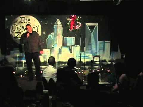 Ray Drury on 12/17/12 on Graduation Showcase Night for The Comedy Zone Comedy School