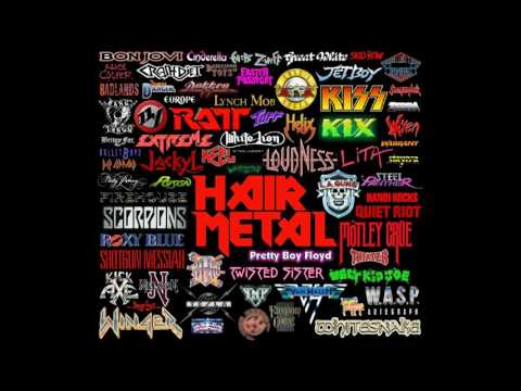 80's Hair/ Glam Metal Playlist