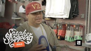 Fat Joe Goes Sneaker Shopping With Complex